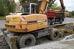 Oprava silnice. Ilustrační foto