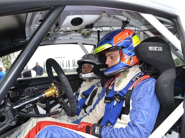Tomáš Kostka testoval vůz Ford Fiesta R5 před startem Barum Rally. Ilustrační foto