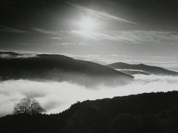 Výstava s názvem Má Vlára zachycuje krásný kus Bílých Karpat v mystických ranních či pozdně večerních náladách.