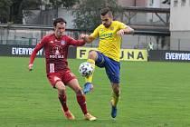 Fotbalisté Zlína na podzim prohráli doma s Olomoucí 0:1.