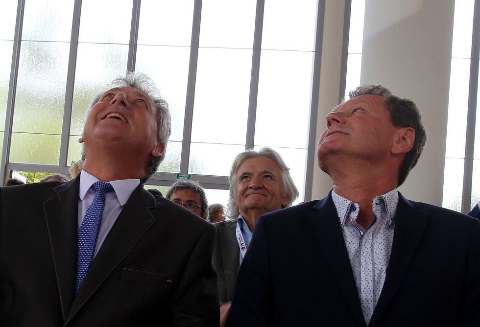Slavnostní otevření památníku T. Baťi  ve Zlíně.