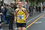 atlet Tomáš Navrátil na závodě Běchovice - Praha.