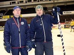 Robert Svoboda (vlevo) a Martin Hamrlík