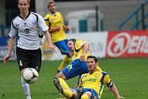 FC Fastav Zlín v zápase s Vlašimí