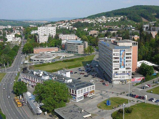 Město Zlín.
