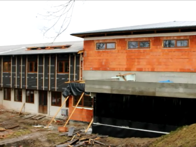 Sokolovnu v Lípě upravují. Bude prostornější