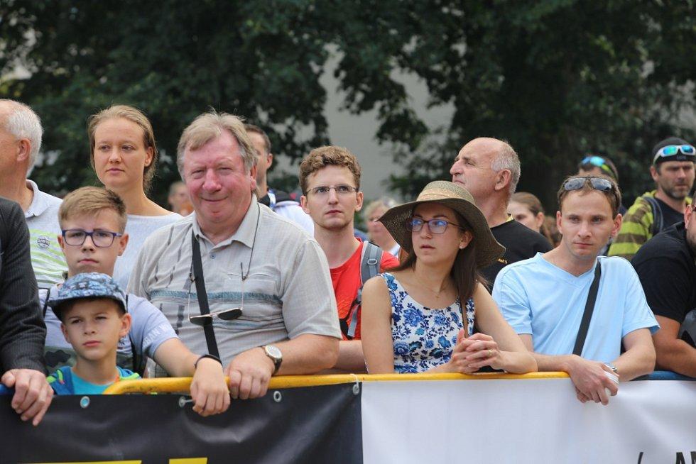Start 49. ročník Barum Czech Rally