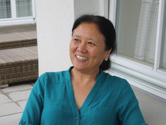 Tibetská lékařka v Luhačovicích