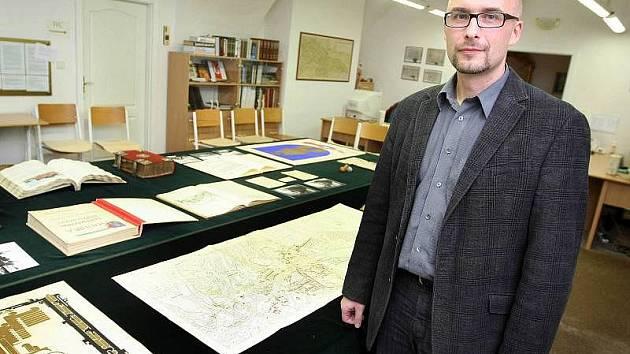 David Valůšek, ředitel Státního okresního archívu ve Zlíně – Klečůvce.