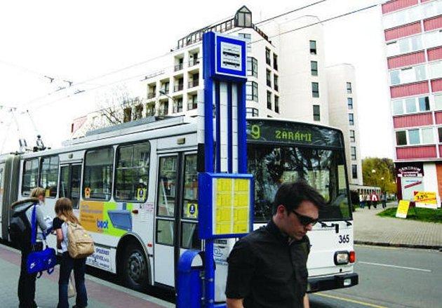 Vedení Dopravní společnosti Zlín - Otrokovice předběžně uvažuje o zřízení nové trolejbusové linky.