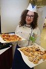 Burza práce a přehlídka středních škol 2017 v  14 15 Baťově institutu ve Zlíně.Střední škola gastronomie a obchodu Zlín.