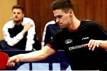 Stolní tenista Ondřej Lapčík