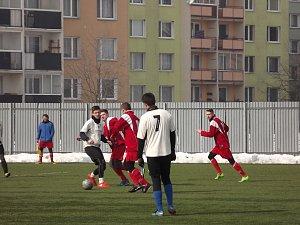 Fotbalisté Břestu na zimním turnaji v Chropyni
