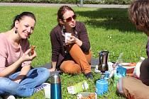 Férová snídaně v Zámeckém parku ve Zlíně