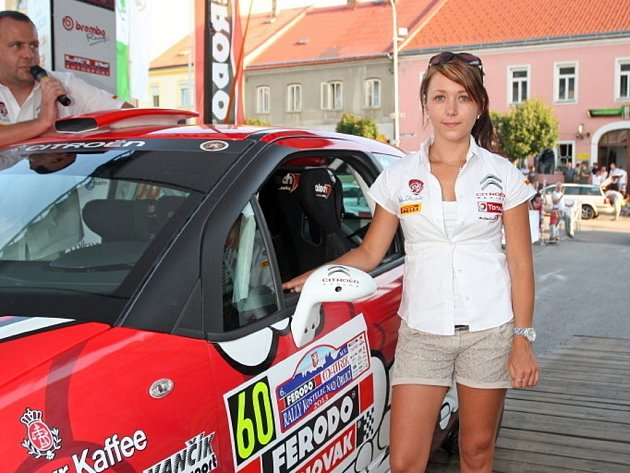 Lucie Červenková v Kostelci.
