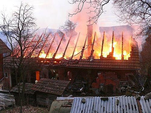 Požár v Jaroslavicích