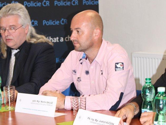 Vedoucí policejní skupiny Tempus Martin Baláž