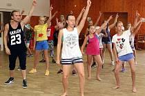Letní hudební a taneční tábor Strašidla v rekreačním středisku REVIKA ve Vizovicích.