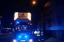 Požár v podkroví objektu restaurace ve Zlíně hasily dvě jednotky hasičů.