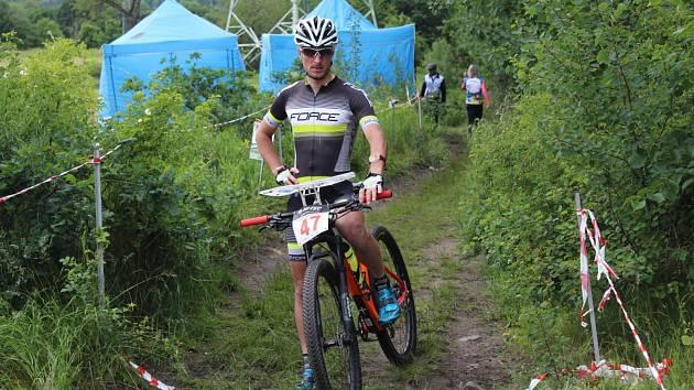 cyklista Jiří Hradil