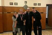Robert Rajzl. Mistrovský titul (konečně) 1.místo kat. 74 kg a 3 místo v absolutce juniorů s výkonem 160kg