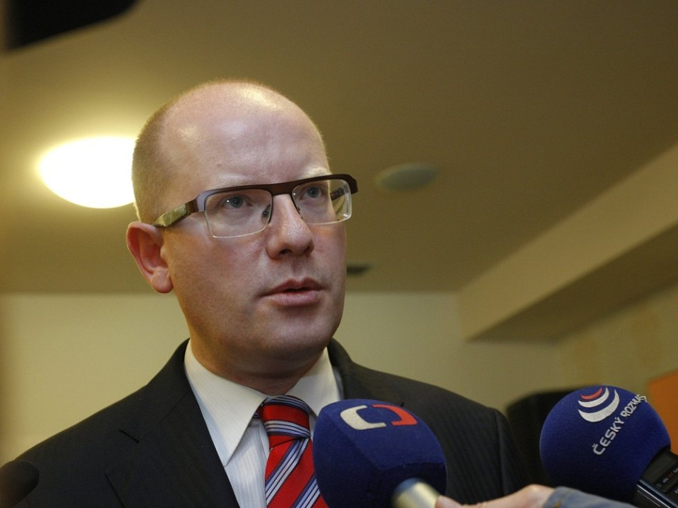 Premier Bohuslav Sobotka.