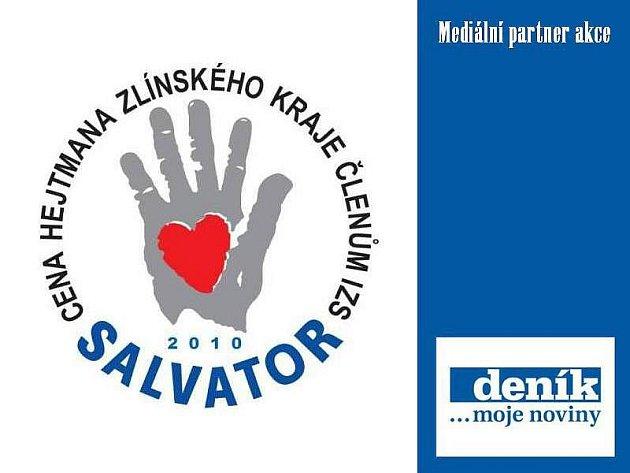 Cena hejtmana Zlínského kraje členům ISZ Salvator 2010.