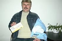 Vítězem závěrečného 13. kola podzimní části tipovací soutěže se Zlínským deníkem se stal Josef Šenkeřík z Návojné.