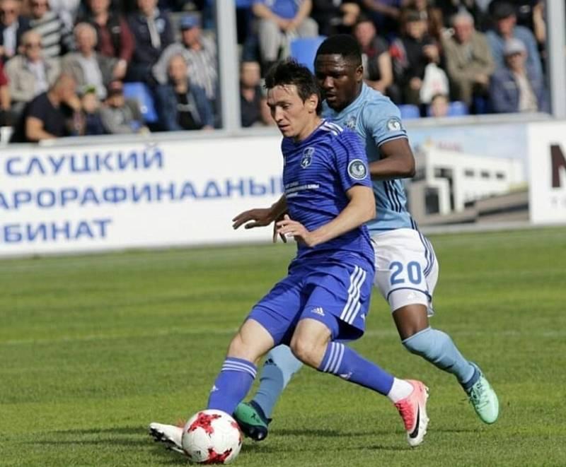 Zkušený levý obránce Vitali Trubila zakončil svoji bohatou hráčskou kariéru v týmu FC Slutsk.