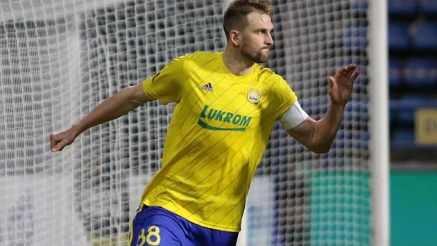 Fotbalový útočník Fastavu Zlín Tomáš Poznar