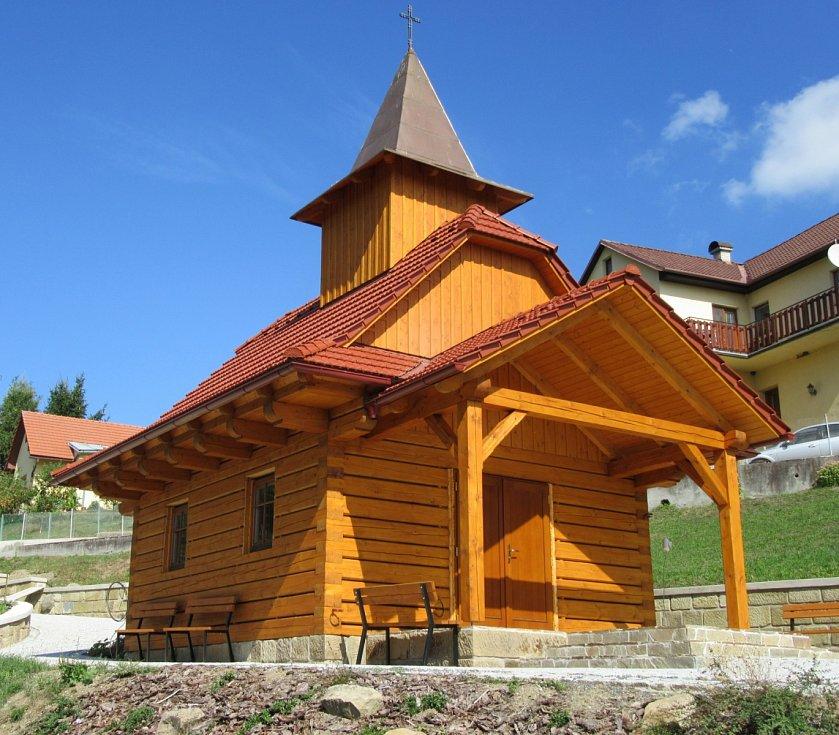 Roubená kaple sv. Zdislavy, Podhradí u Luhačovic