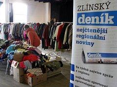 Dobročinný bazar Naděje v Masters of rock café ve Zlíně.