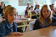 První školní den letošního roku připadl na pondělí 4. září. Děti ze Základní školy Kvítková ve Zlíně usedly do lavic přesně v devět hodin ráno.