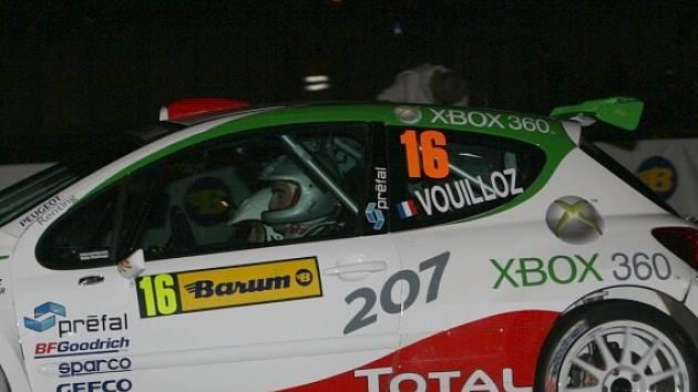 Vítěz městské rychlostní zkoušky Nicolas Vouilloz.