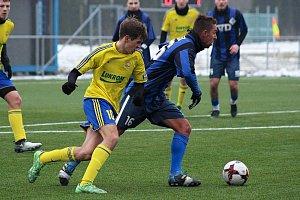 Fotbalisté Slavičína prohráli s ligovým dorostem Fastavu