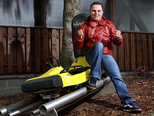 Michal Cepek, zlínský podnikatel a majitel lyžařského areálu Svah Zlín.
