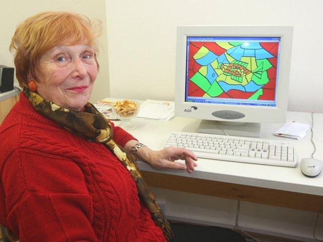Počítačová grafička Naděžda Sedláčková.