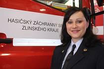 Lucie Javoříková, tisková mluvčí HZS ZK