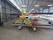 Aero klub Luhačovice -  letadla, klubovna, hangár, parkoviště... Nové zázemí