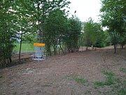 Plocha v takzvaném Centrálním parku na Jižních Svazích ve Zlíně