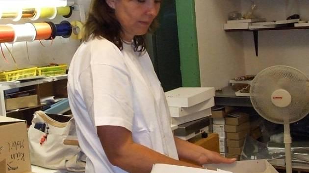 Eva Šafránková - podnikat se dá i v čokoládě.