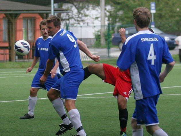Fotbalisté Sehradic. Ilustrační foto