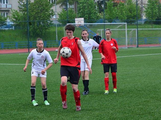 Fotbalový KP žen Uherský Brod - Brumov