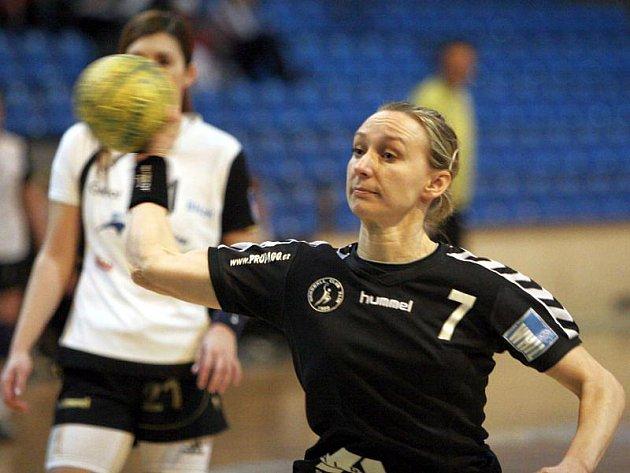 Zlínská házenkářka Monika Pažourková.