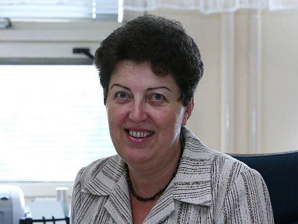 Náměstykně ředitelky krajské hygienické stanice Marta Orlinová