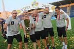 Uherské Hradiště super pohár fotbal FC FASTAV Zlín - ŠK Slovan Bratislav