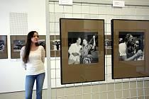 Výstava Eduard Ingriš  fotografie v  muzeu jihovýchodní Moravy ve Zlíně.