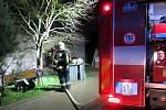 V době požáru se všechny osoby nacházely mimo objekt. Ke zranění tak nedošlo.