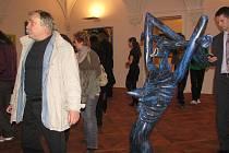 V holešovském zámku se 21. října 2010 konala vernisáž obrazů Borise Jirků.