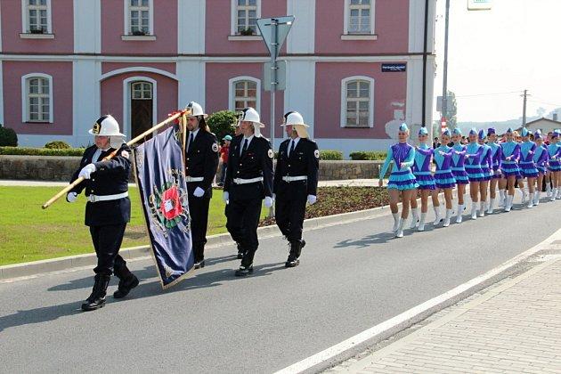Oslavy 100 let založení SDH Štípa.